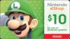 Nintendo 10 USD Gift Card
