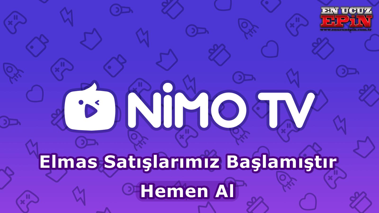 Nimo Tv Elmas Satışlarımız Başlamıştır.
